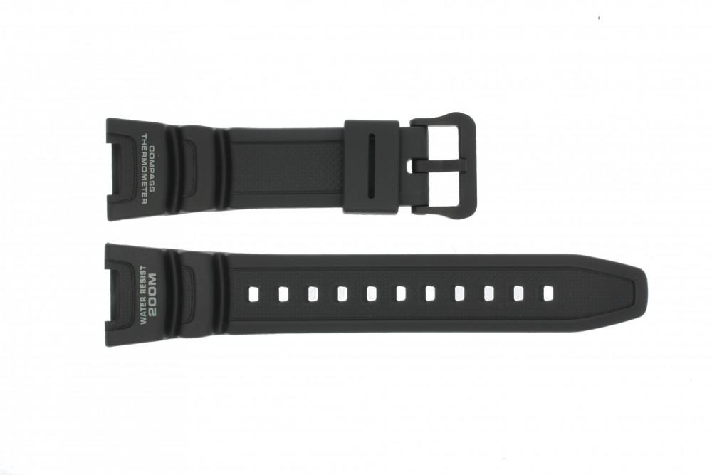 9abaac069dc Pulseira de relógio Casio SGW-100-1V10304195 Silicone Preto 24mm