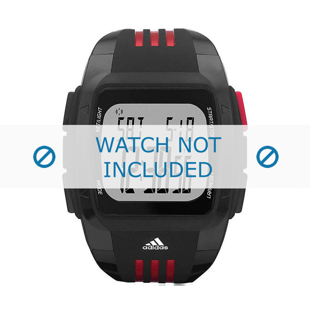 a14777cca8e Adidas pulseira de relogio ADP6035 Borracha   plástico Preto ...