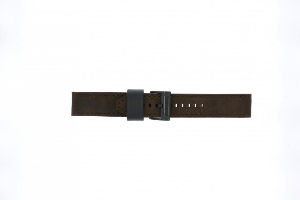 c590ebb7e362d Fossil pulseira de relogio CH2782   FS4656   FS5251SET   FTW1163 Couro  Marrom 22mm + costura
