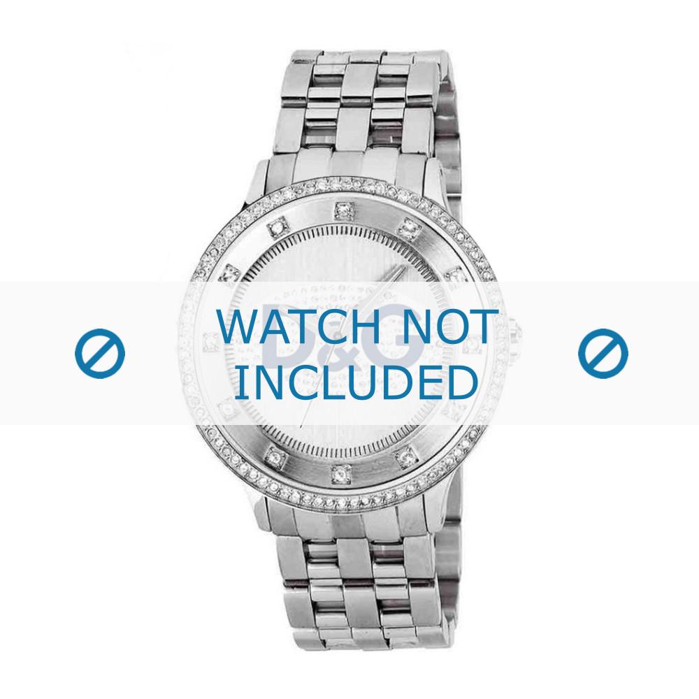 db49ab8350e7d Pulseira de relógio Dolce   Gabbana DW0133 Aço 22mm