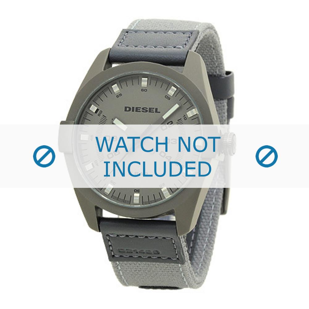baf12b78799 Diesel pulseira de relogio DZ1488 Textil Cinza - Encomende agora no ...