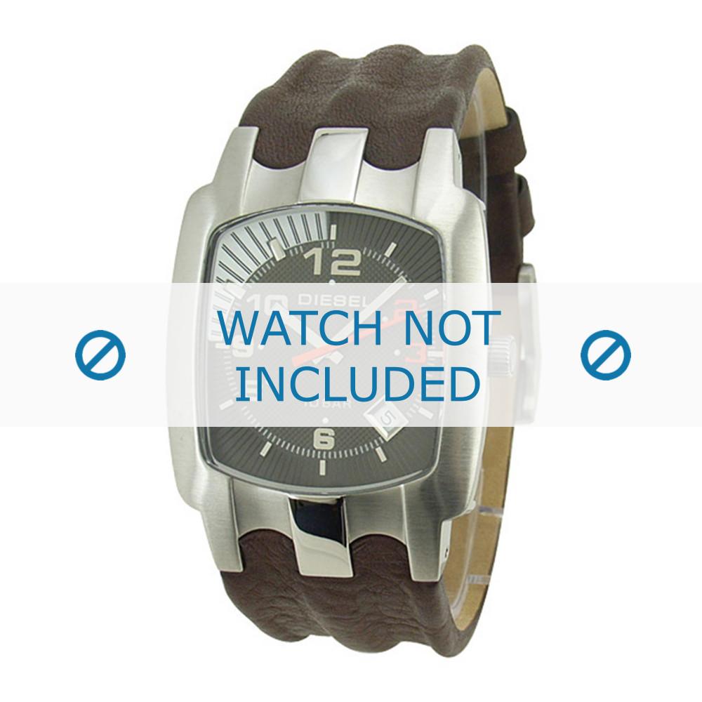 d2771a67075 Diesel pulseira de relogio DZ4117 Couro Marrom - Encomende agora no ...