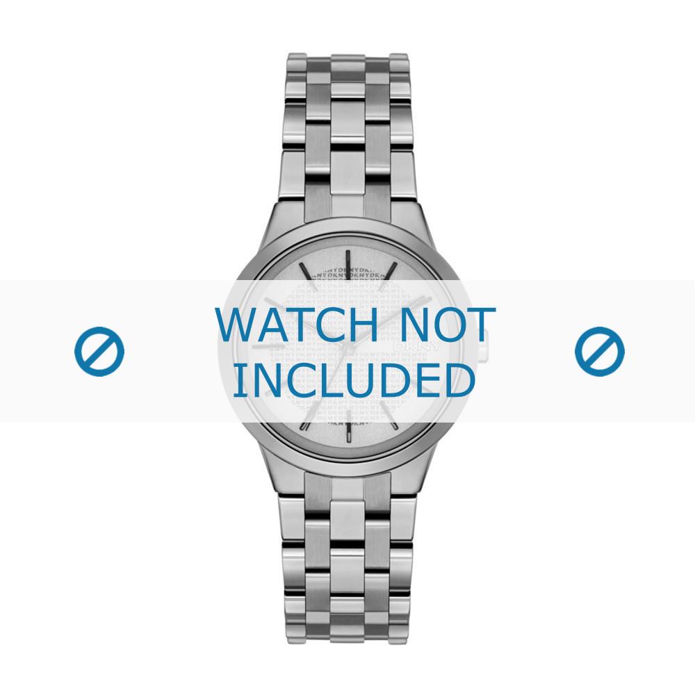 e44ad680cc4 DKNY NY-2384 pulseira de relógio original Aço Prata - Compre agora!