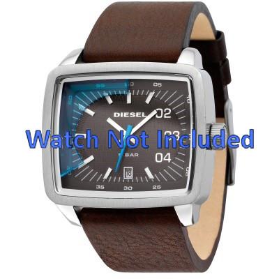 5c06c2b8c43 Diesel pulseira de relogio DZ1334 Couro Marrom - Encomende agora no ...