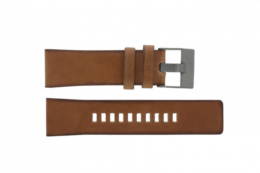 e031b396a0e Diesel pulseira de relogio DZ4343 Couro Marrom - Encomende agora no ...