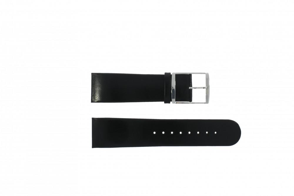 07d10ea7d34 Calvin Klein pulseira de relogio K30471   K600070109   K30271 Couro Preto  24mm