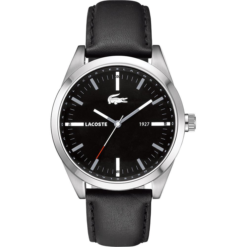 2ddccbc12bc Pulseira de relógio Lacoste 2010611   LC-52-1-14-2277 Couro Preto 22mm