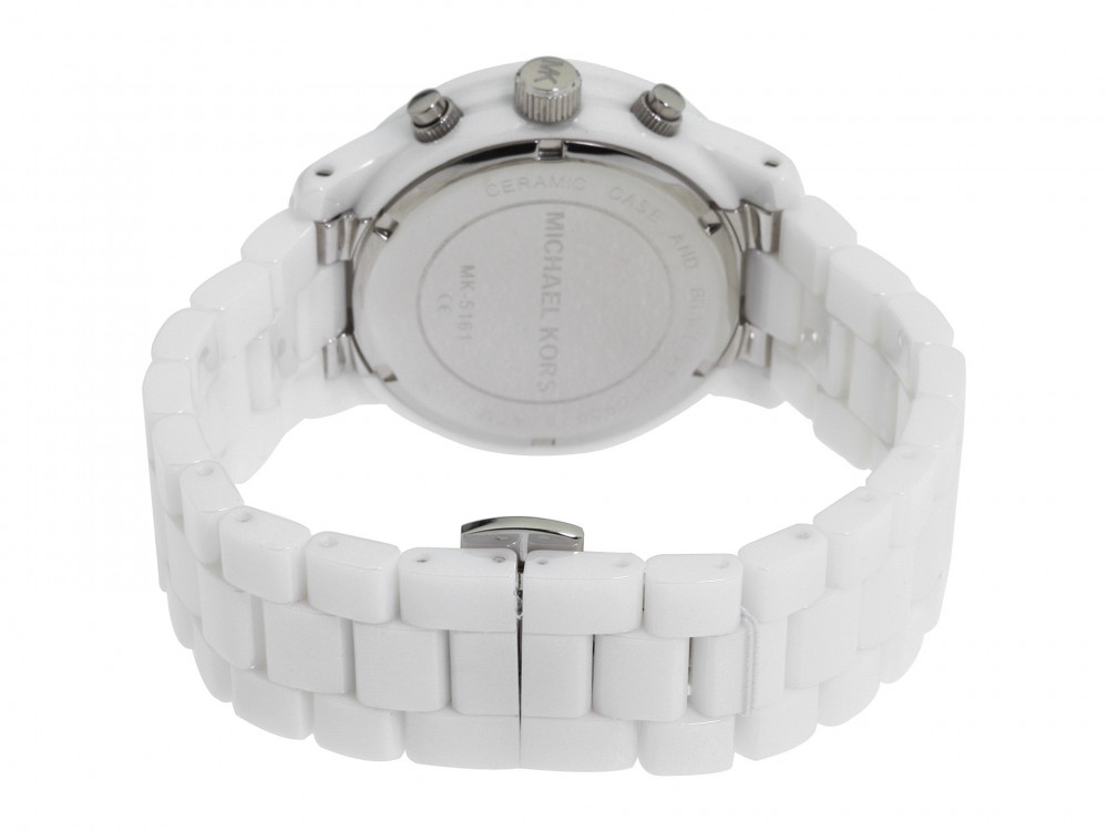 c8440c7cc Michael Kors pulseira de relogio MK5161 Cerâmica Preto - Encomende ...