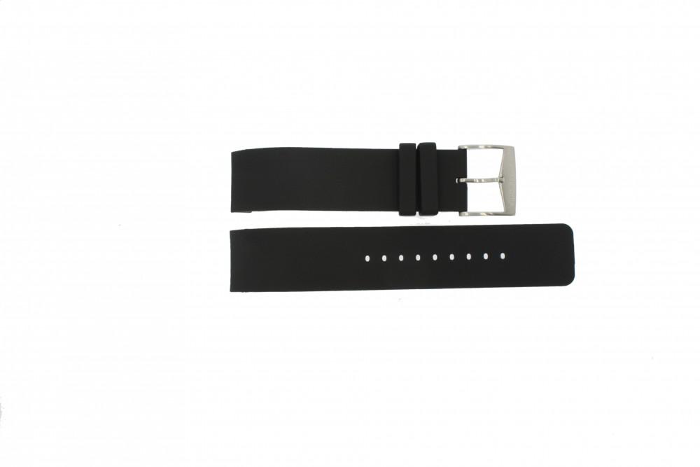 3b6f0218479d8 Pulseira de relógio Michael Kors MK8040   MK8055 Borracha Preto 22mm