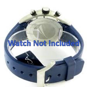 f73d6a9edec Nautica A23002G banda   pulseira de relógio Borracha Azul - Compre ...