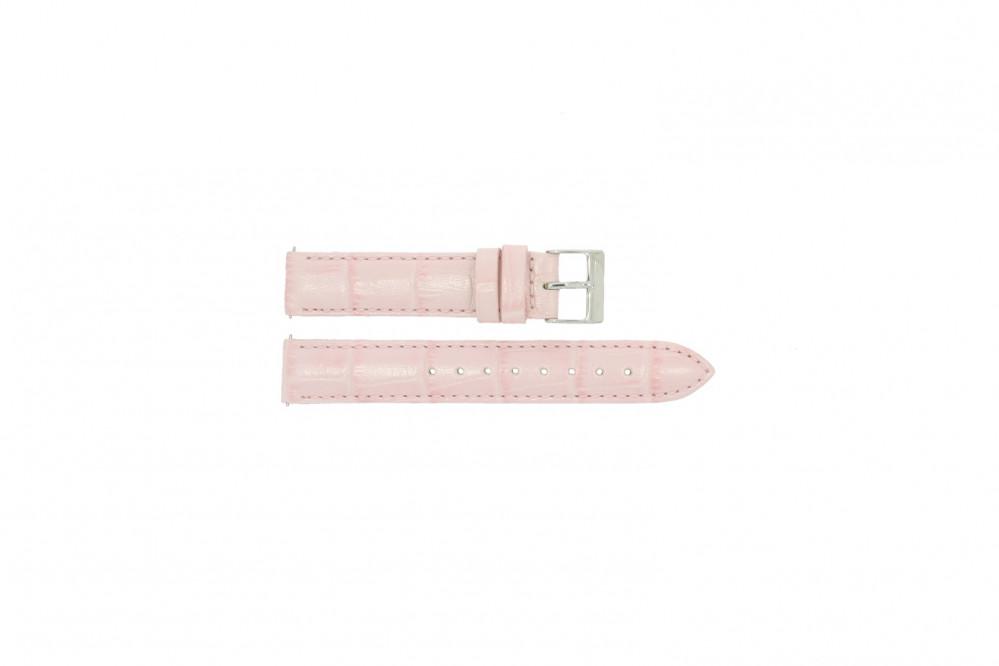 aa7fa75dd Guess W95139L1 banda   pulseira de relógio Couro Rosa - Compre agora!