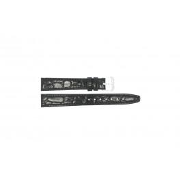 Pulseira de relógio Condor 082R.01 Couro Preto 10mm