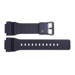 Pulseira de relógio Casio STL-S100H-2A2 / 10487314 Plástico Azul 18mm