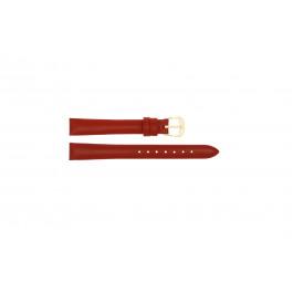 Pulseira de relógio Universal 241.06 Couro Vermelho 20mm