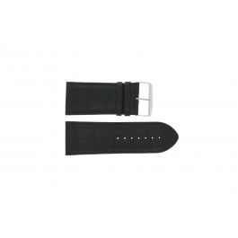 Pulseira de relógio Universal 305R.01 Couro Preto 30mm