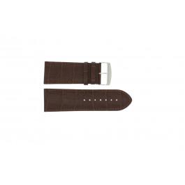Pulseira de relógio Universal 305.02 Couro Marrom 30mm