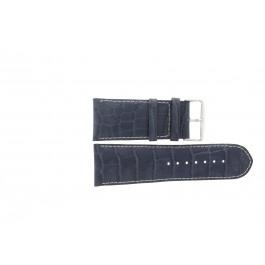 Pulseira de relógio Universal 61324.00.36 Couro Azul 36mm