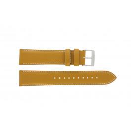 Pulseira de relógio Seiko 7T94-0AV0 / SNN169P1 Couro Marrom 20mm