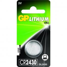GP Célula de botão Bateria CR2430 - 3v
