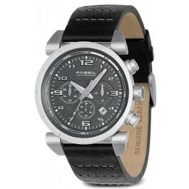 Pulseira de relógio Fossil CH2494 Couro Preto 22mm