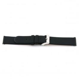 Pulseira de relógio Universal 800R.01 Couro Preto 20mm