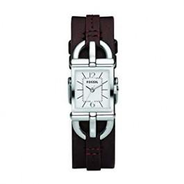 Pulseira de relógio Fossil ES2637 Couro Marrom 7mm