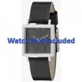 Pulseira de relógio DKNY NY3419 Couro Preto
