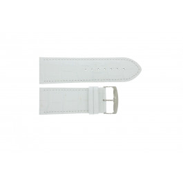 Pulseira de relógio Universal 305R.09 Couro Branco 30mm