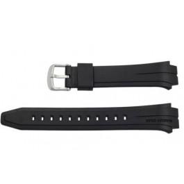 Pulseira de relógio Casio 10271029 Plástico Preto