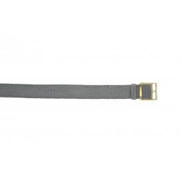 Pulseira de relógio Universal PRLN.20.GRI Nylon/pérola Cinza 20mm