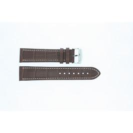 Pulseira de relógio Universal 308R.02 Couro Marrom 22mm