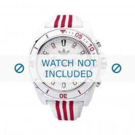 Pulseira de relógio Adidas ADH2666 Silicone Branco 24mm