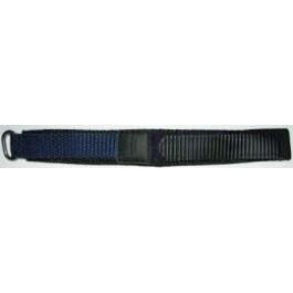Pulseira de relógio Condor KLITTENBAND 412R Navy Velcro Azul 20mm