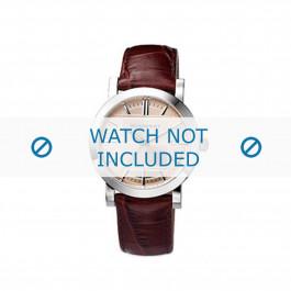 Pulseira de relógio Burberry BU1356 Couro Marrom 20mm