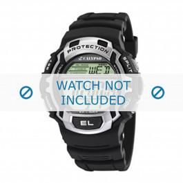 Pulseira de relógio Calypso K5573.1 Borracha Preto 16mm
