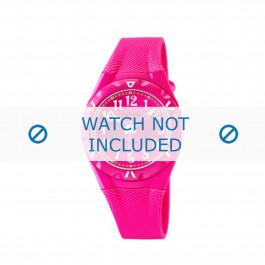 Calypso pulseira de relogio K6064-5 Borracha / plástico Rosa