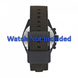 Pulseira de relógio Fossil CH2804 Couro Marrom 22mm