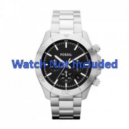 Pulseira de relógio Fossil CH2848 / CH2849 Aço Aço 22mm