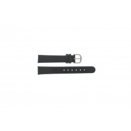 Pulseira de relógio Danish Design ADDBL15 Couro Preto 15mm