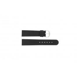 Pulseira de relógio Danish Design IQ13Q272 / IQ12Q272 / IQ14Q199 / IQ16Q563 Couro Preto 18mm