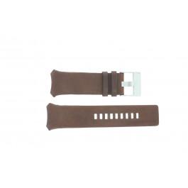 Pulseira de relógio Diesel DZ3037 Couro Marrom 32mm