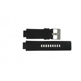 Pulseira de relógio Diesel DZ4146 Couro Preto 16mm