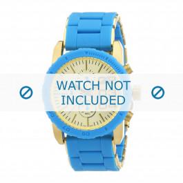 Diesel pulseira de relogio DZ5360 Aço inoxidável Azul 22mm