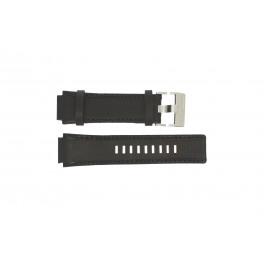 Diesel pulseira de relogio DZ4102 Couro Marrom 21mm
