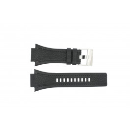 Pulseira de relógio Diesel DZ4172 Couro Preto 22mm