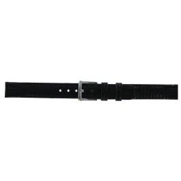 Pulseira de relógio DKNY NY3434 Couro Preto 13mm