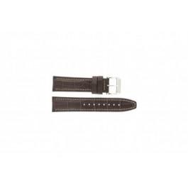 Pulseira de relógio Festina F16081/8 Couro Marrom 22mm
