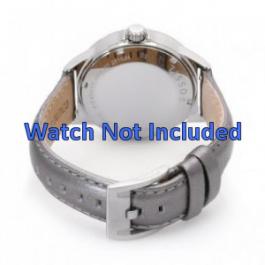 Bracelete Fossil AM4337 em pele prateado