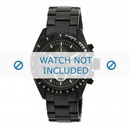 Pulseira de relógio Fossil CH2601 Aço Preto 22mm