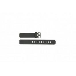 Jacob Jensen pulseira de relógio 700 serie  Borracha Cinza escuro 17mm